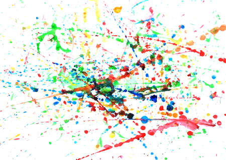 abstract hand drawn watercolor background photo