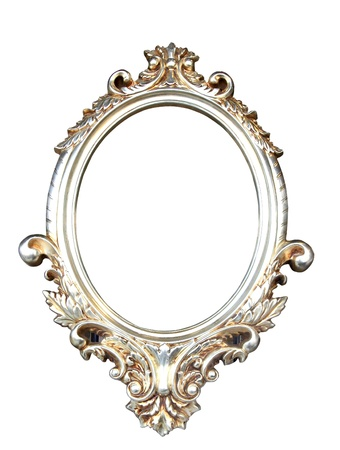 Ornate vintage frame with clipping path photo