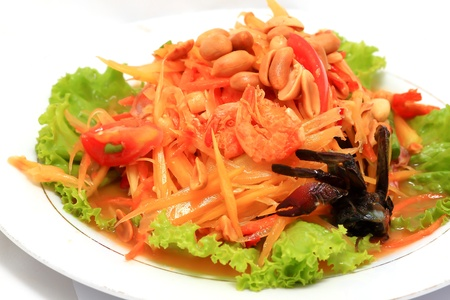 thai papaya salad Stock Photo - 8638141