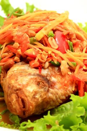 thai papaya salad photo