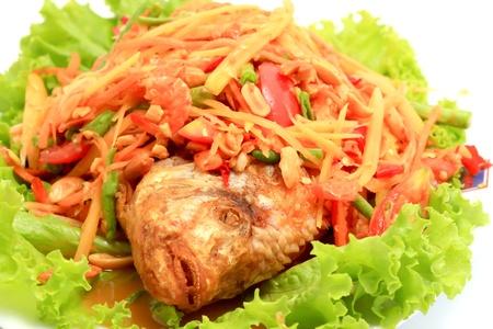 thai papaya salad Stock Photo - 8638145