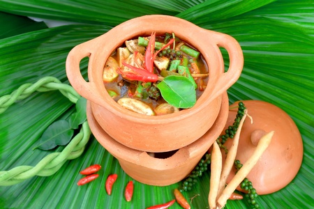 delicious thai food photo