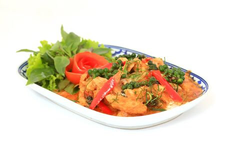 Spicy Stir Fried Fish Fillet with Herb photo