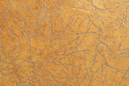 animal texture: Brown leather texture closeup Stock Photo