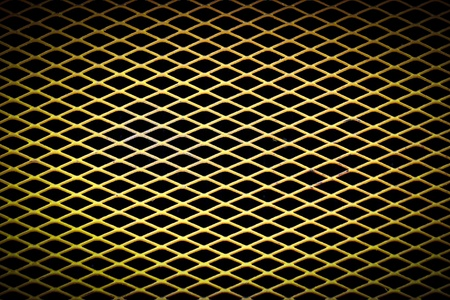 metal background with perforated holes photo