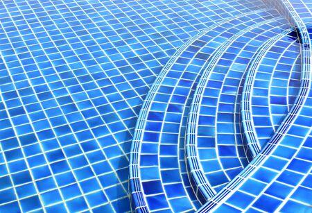 ripple effect: Swimming pool
