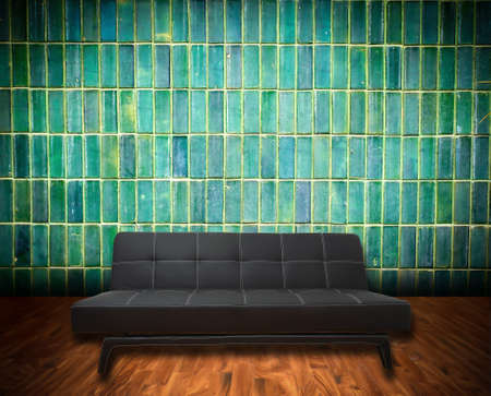 inter grunge room with classic sofa Stock Photo - 9132024