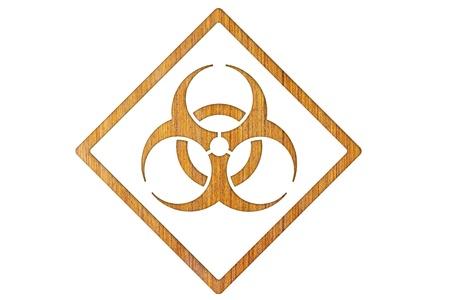 Bio-hazard symbol photo