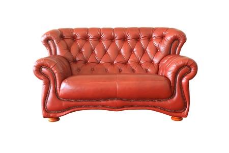 isolated brown Luxuus armchair Stock Photo - 9413054