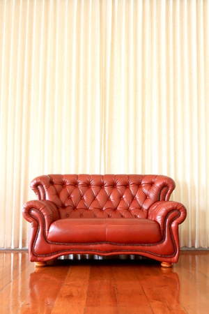 Modern interior with red sofa Stock Photo - 9413063