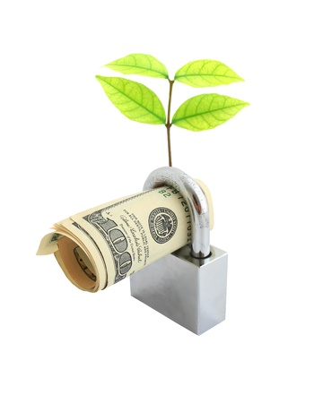 Saving money concept Stock Photo - 9653738