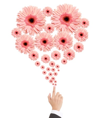 Woman's hand with flowers Stock Photo - 9904982
