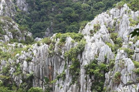 parc naturel: high mountain view near the village, Saraburi, Thailand.
