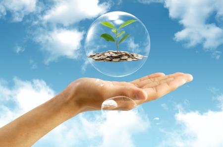 Enregistrement concept de l'argent Banque d'images
