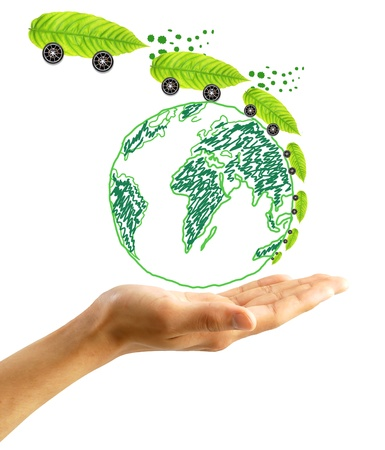 protect the environment concept Stock Photo