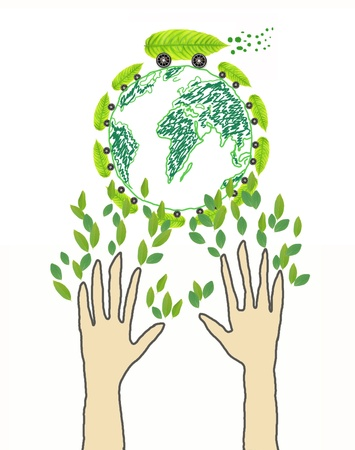Eco Friendly Concept photo