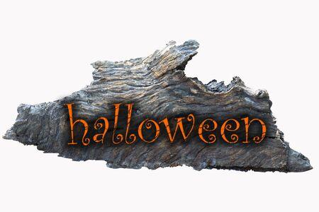 Halloween sign wood Stock Photo - 10427804