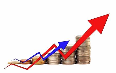 Financial success concept photo