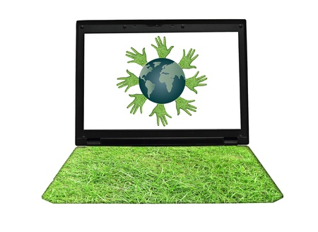 concept of global environmental energy business photo