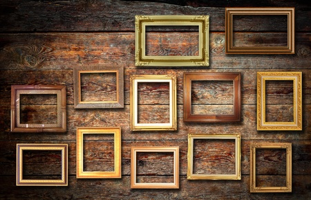 Nature photo on wood wall photo