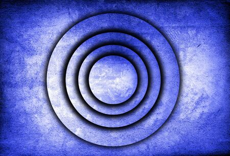 abstract round pattern photo