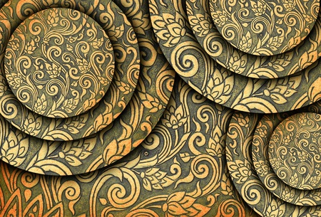 metal plate background Stock Photo - 11507481