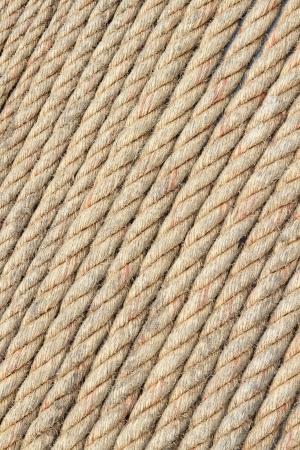 Rough rope background photo