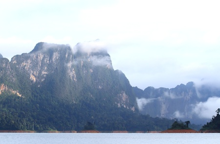 Khao-Sok, the popular national park of Thailand Stock Photo - 13731507