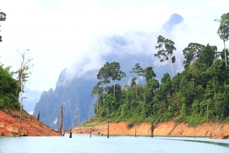 Khao-Sok, the popular national park of Thailand photo