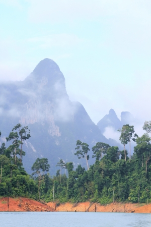 Khao-Sok, the popular national park of Thailand Stock Photo - 13731515