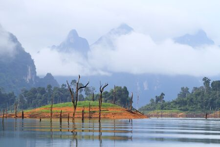 Khao-Sok, the popular national park of Thailand Stock Photo - 13731511