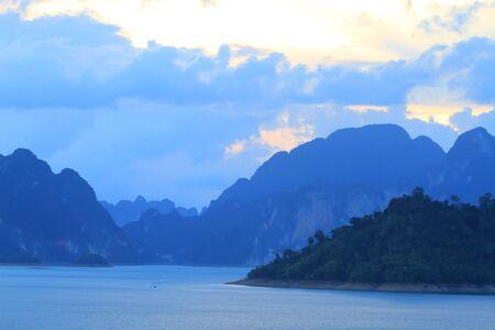 Khao-Sok, the popular national park of Thailand photo
