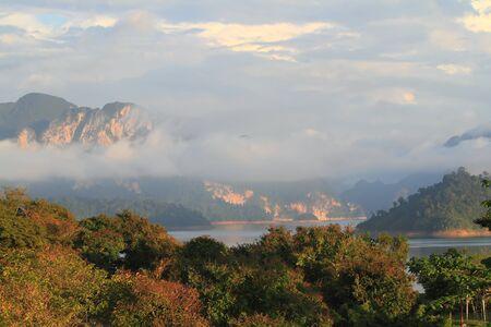 Khao-Sok, the popular national park of Thailand Stock Photo - 13773784