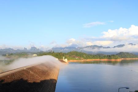 Beautiful landscape of   Ratchaprapha dam, Thailand Stock Photo - 13773743