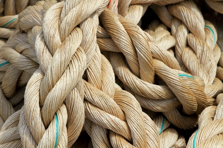 Marine rope background Stock Photo - 13982621