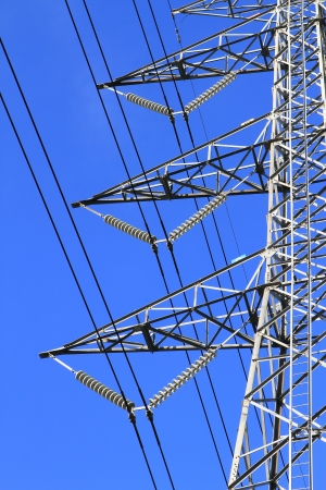 electric high voltage power post Stock Photo - 14056816