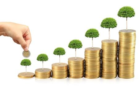 Augmentez vos économies Banque d'images