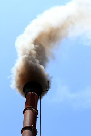 pipe black smoke emission photo