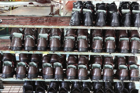 Factory of safety shoes Stock Photo - 15429933