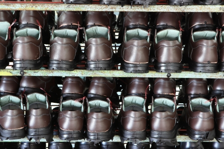 Factory of safety shoes Stock Photo - 15429931