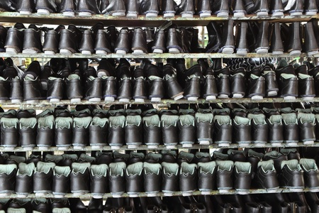 Factory of safety shoes Stock Photo - 15429906