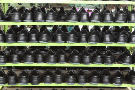 Factory of safety shoes photo