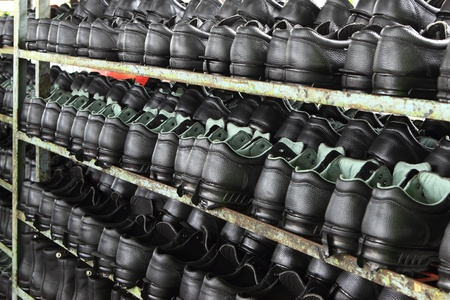 Factory of safety shoes Stock Photo - 15429903