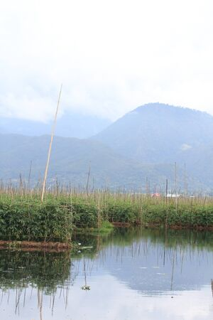 Inle Lake is a freshwater lake located in the Shan Hills in Myanmar (Burma). Stock Photo - 16475008