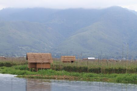 Inle Lake is a freshwater lake located in the Shan Hills in Myanmar (Burma). Stock Photo - 16475009