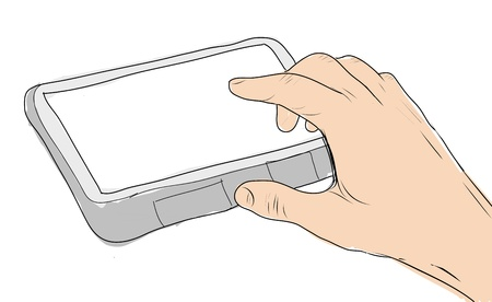 drawing  Tablet screen photo