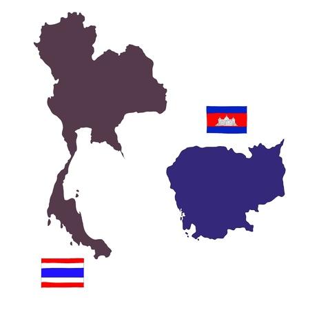 hand drawn   of flag of ASEAN Economic Community, AEC Stock Photo - 17576575