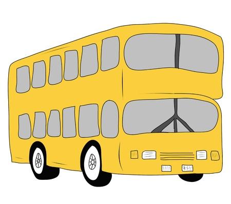 London city bus Stock Photo - 17871489