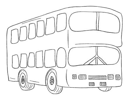 London city bus Stock Photo - 17871493