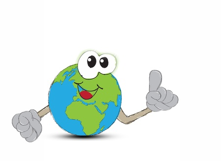 Earth Hand drawn Stock Photo - 17871466